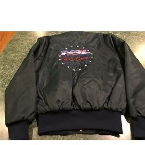 Vintage National Bicycle League US OPEN Jacket Med